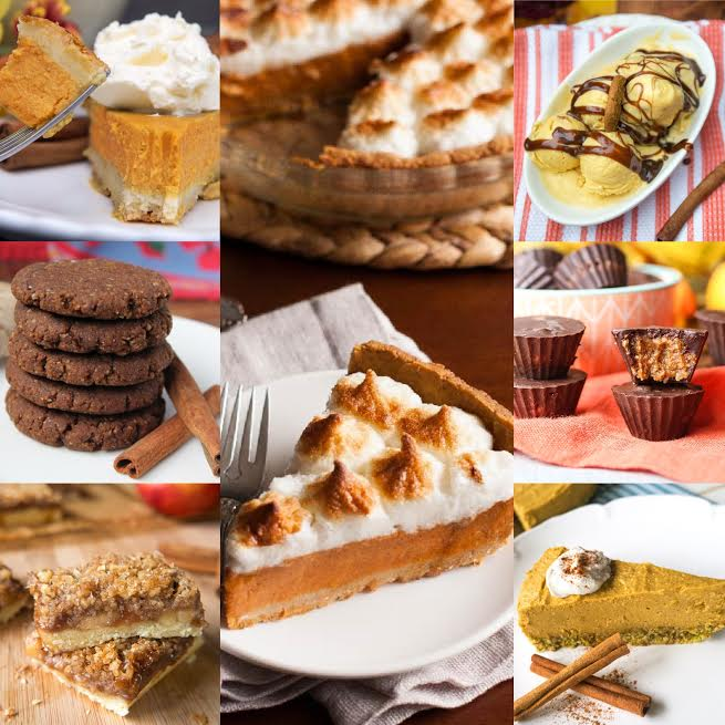 paleo thanksgiving desserts