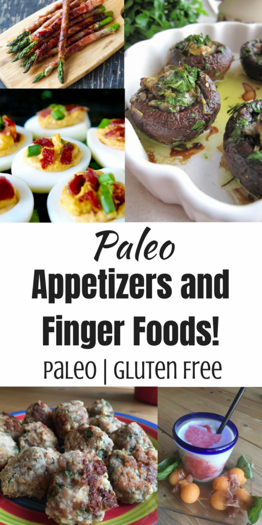 Paleo Appetizers and Finger Foods for Parties!