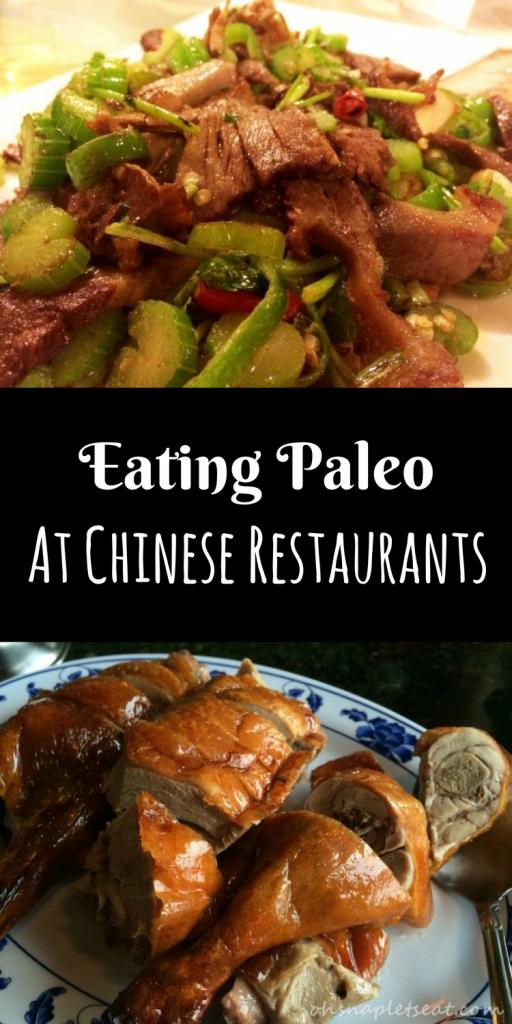 Eating Paleo at Chinese Restaurants