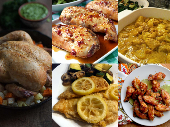 The Ultimate Paleo Chicken Recipes Round Up!