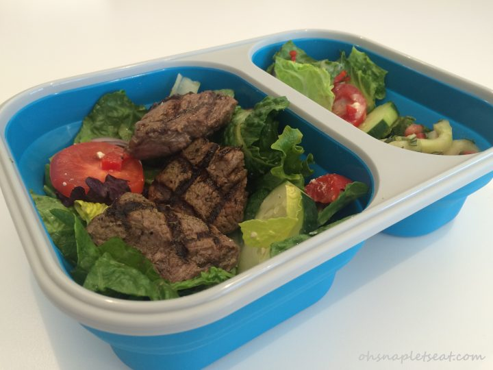 eco vessel collapsible lunch box