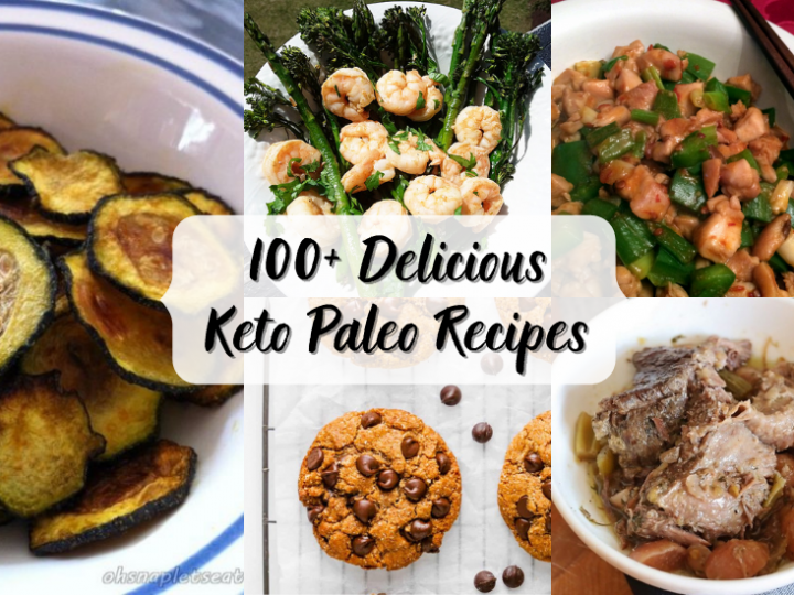 100+ Keto Paleo Recipes (Gluten Free and Low Carb)