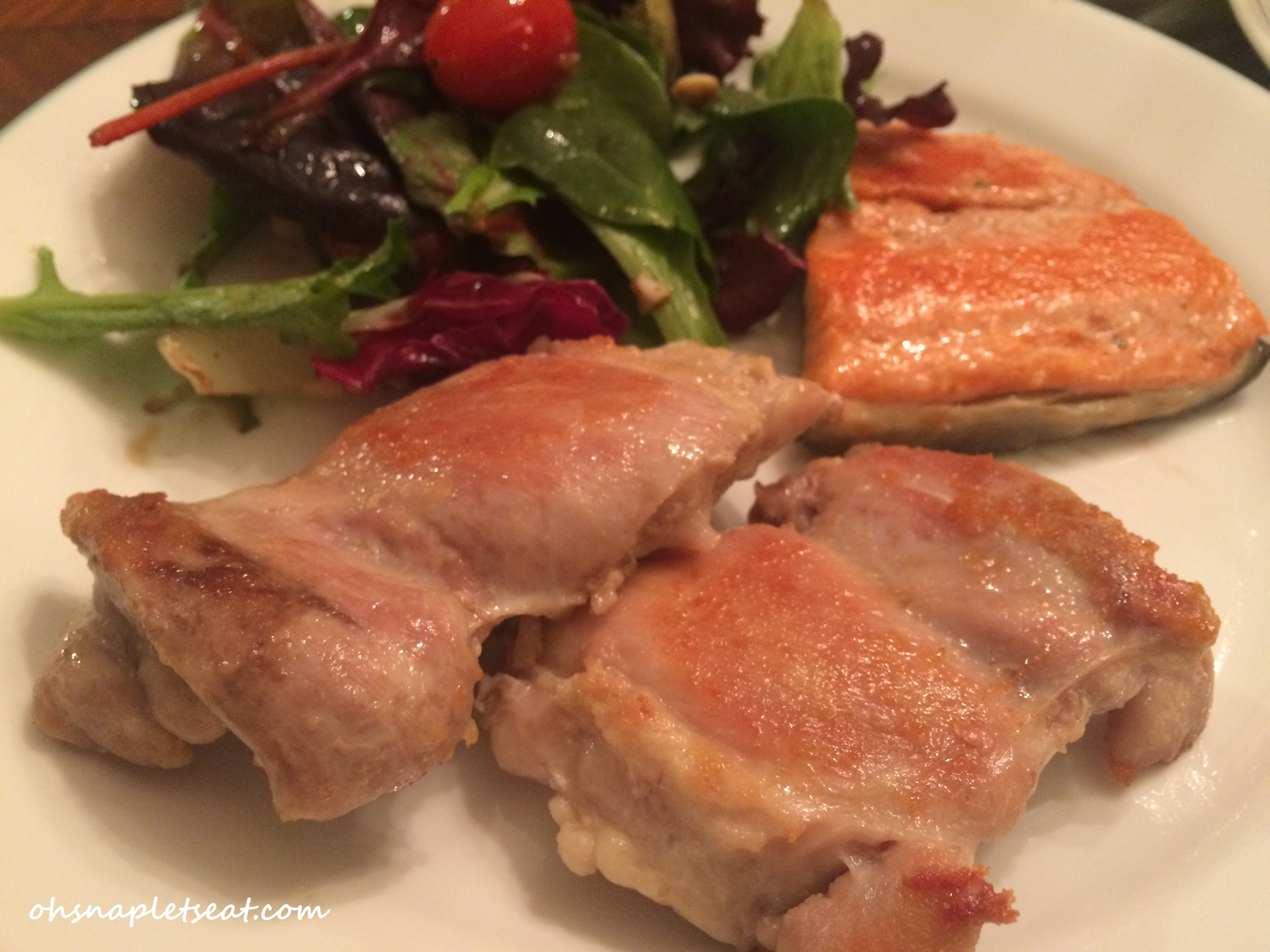 Paleo Pan Fried Chicken Thighs