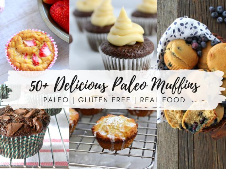 50+ Delicious Paleo Muffins Recipes!