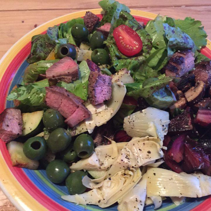Grilled Steak Nicoise Salad