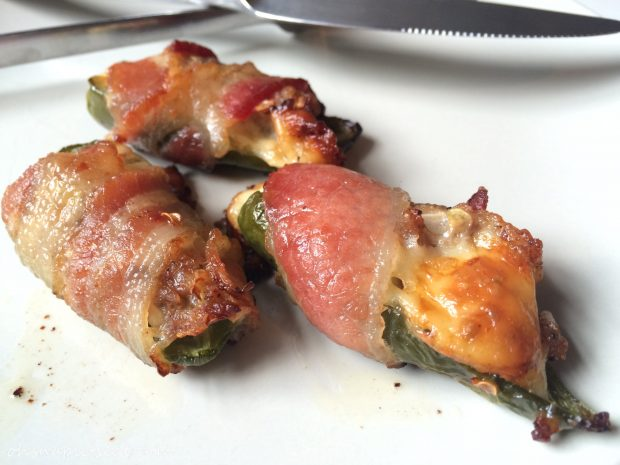 Keto Bacon Wrapped Jalapeño Poppers