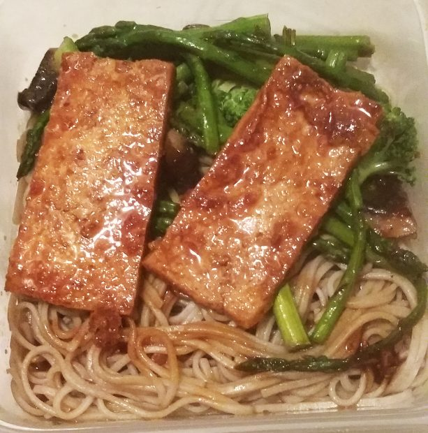 Soba Noodles with Tofu and Veggies (Vegetarian, Gluten Free)