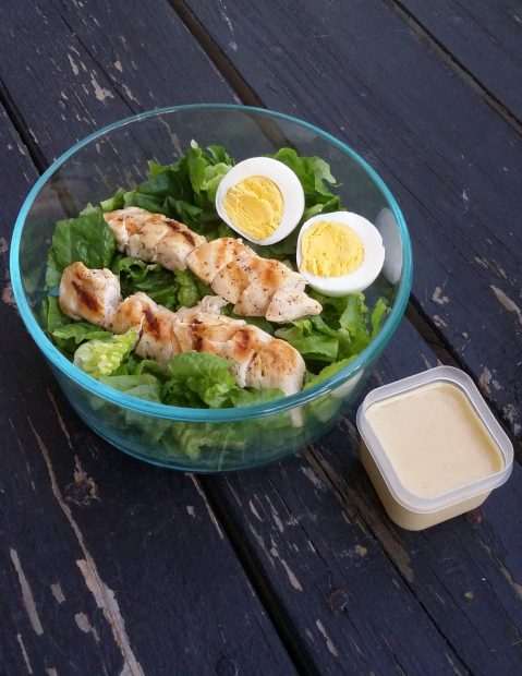 Paleo Chicken Caesar Salad Recipe