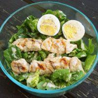 Chicken Caesar Salad (Paleo, Keto, Whole30)