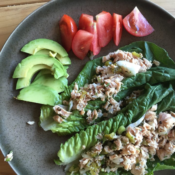 Paleo Tuna Salad Wraps