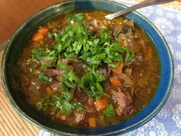 Osso Buco Stew with Kale and Baharat