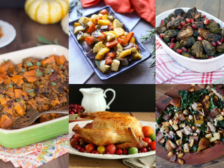The Ultimate Whole30 Thanksgiving Recipes Round Up!