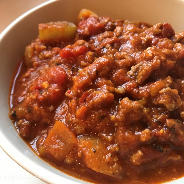 Easy and Delicious Paleo Pumpkin Chili