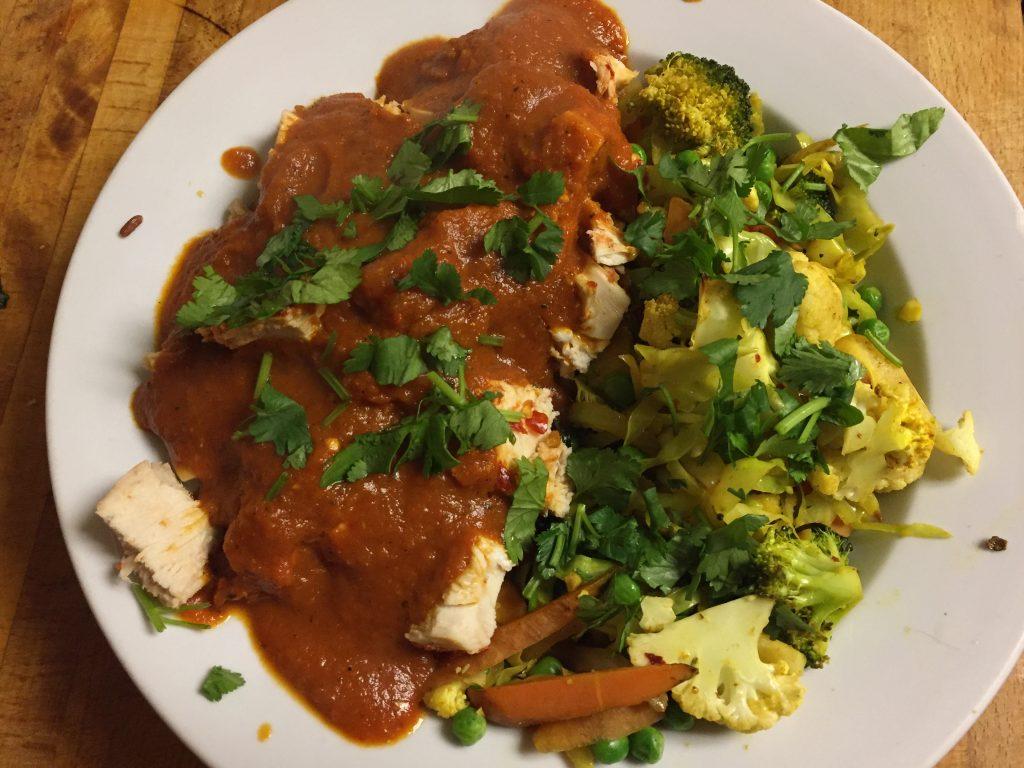Spicy Chicken Tikka Masala