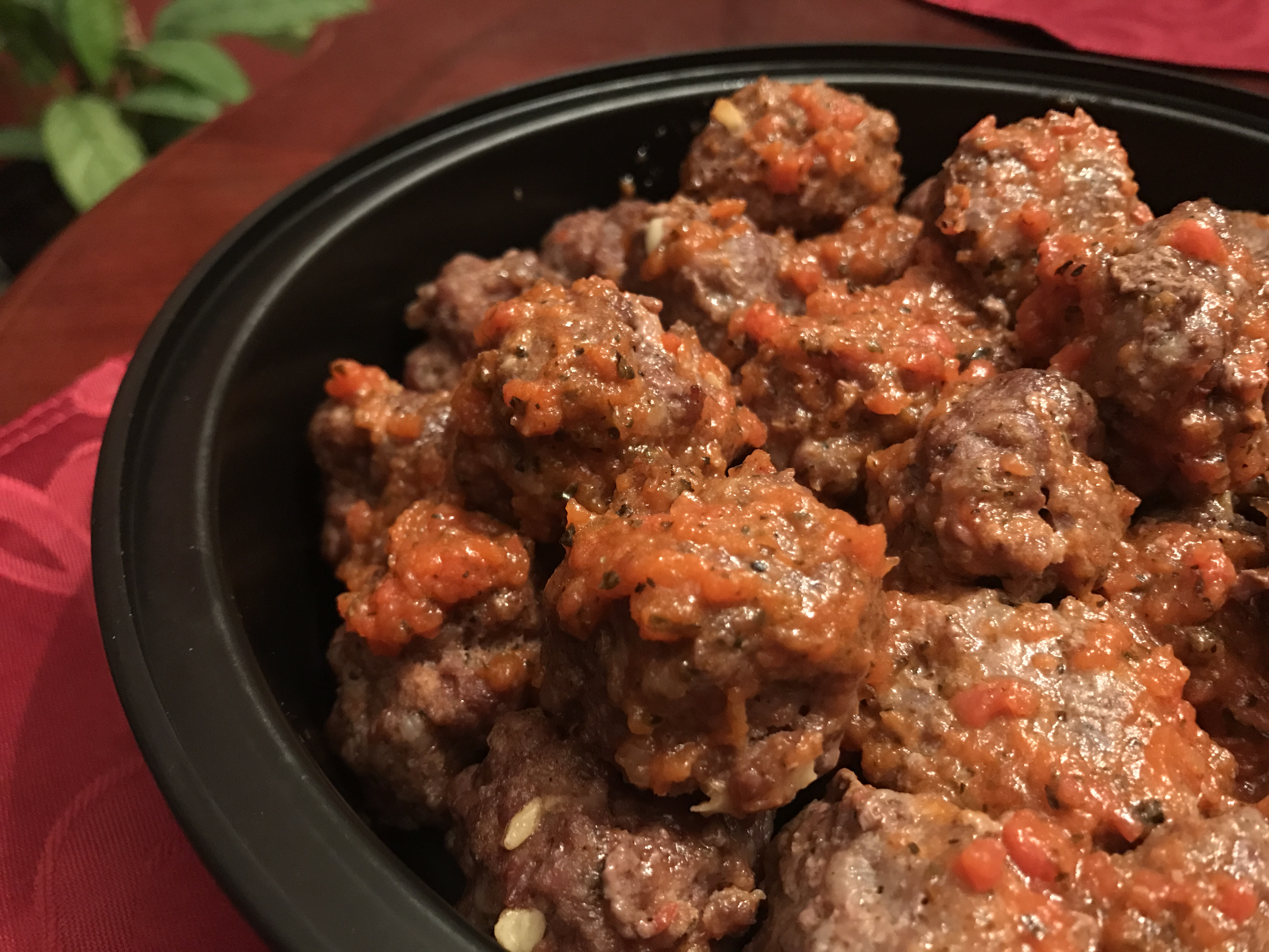Paleo Sriracha Meatballs - Oh Snap! Let's Eat!