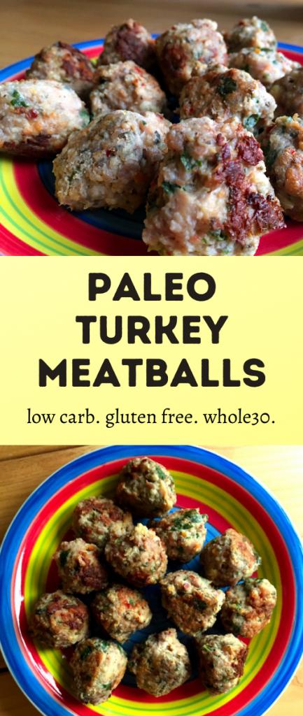 Paleo Turkey Meatballs Recipe