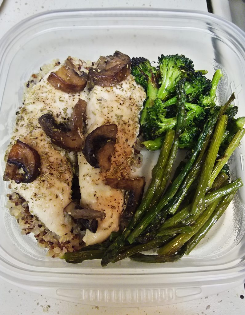 One-Pan Roasted Chicken and Veggies