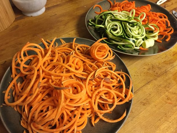 Paleo Spicy Thai Noodle Salad