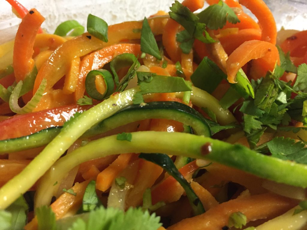 Paleo Spicy Thai Noodle Salad