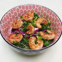Spicy Shrimp Super Salad