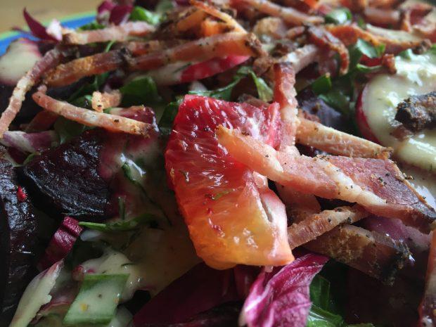 Sping Beet Radicchio Salad