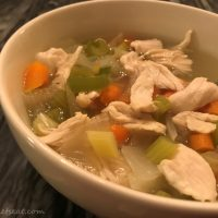 Easy Paleo Chicken Soup