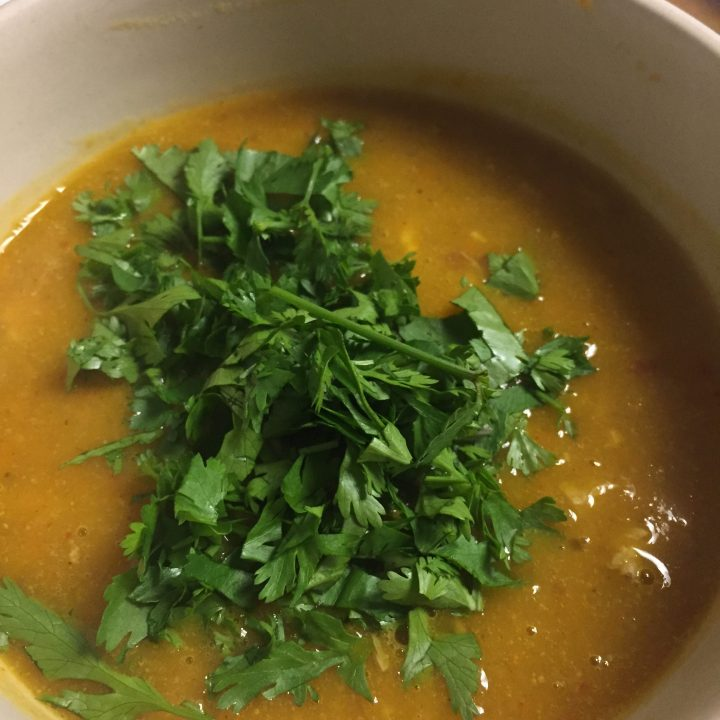Panang Curry Soup (Paleo, Gluten Free)