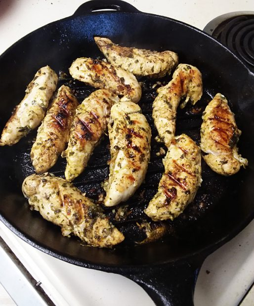 Cilantro Lime Chili Chicken Tenders