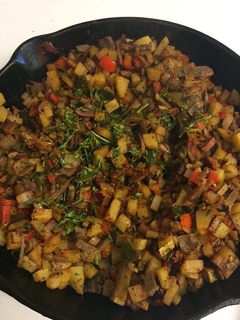 Paleo Breakfast Potato Hash
