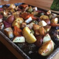 Paleo Roasted Root Vegetables