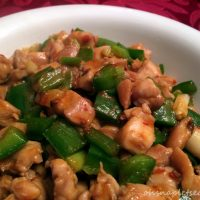 Spicy Chinese Jalapeno Chicken Stir Fry