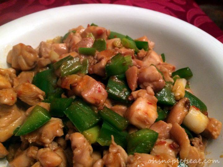 Jalapeño Chicken Stir Fry