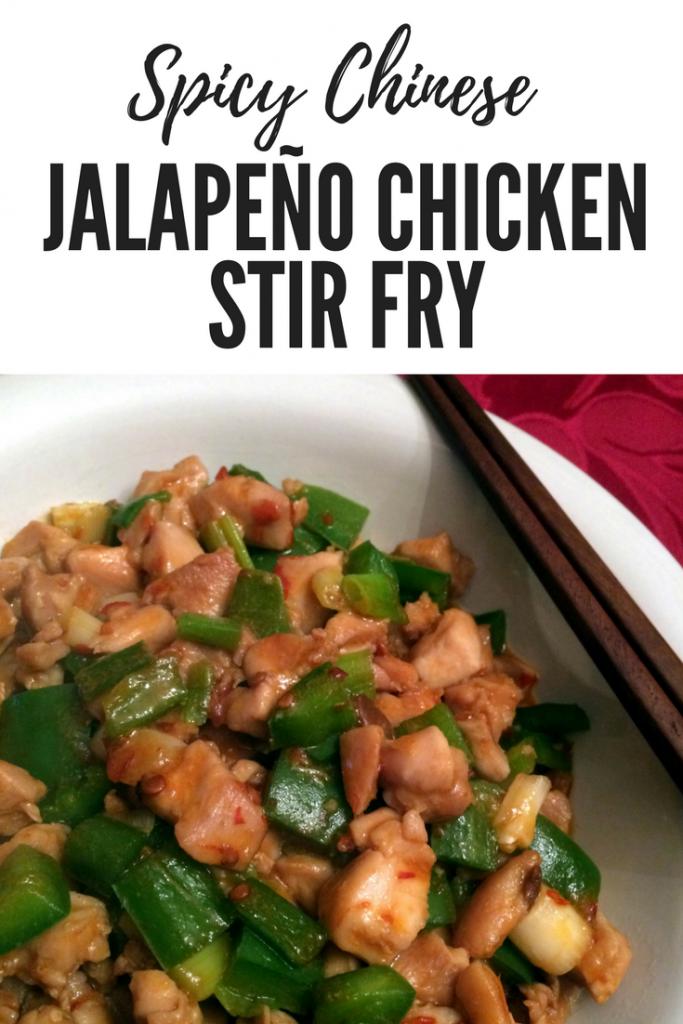 Spicy Jalapeño Chicken Stir Fry