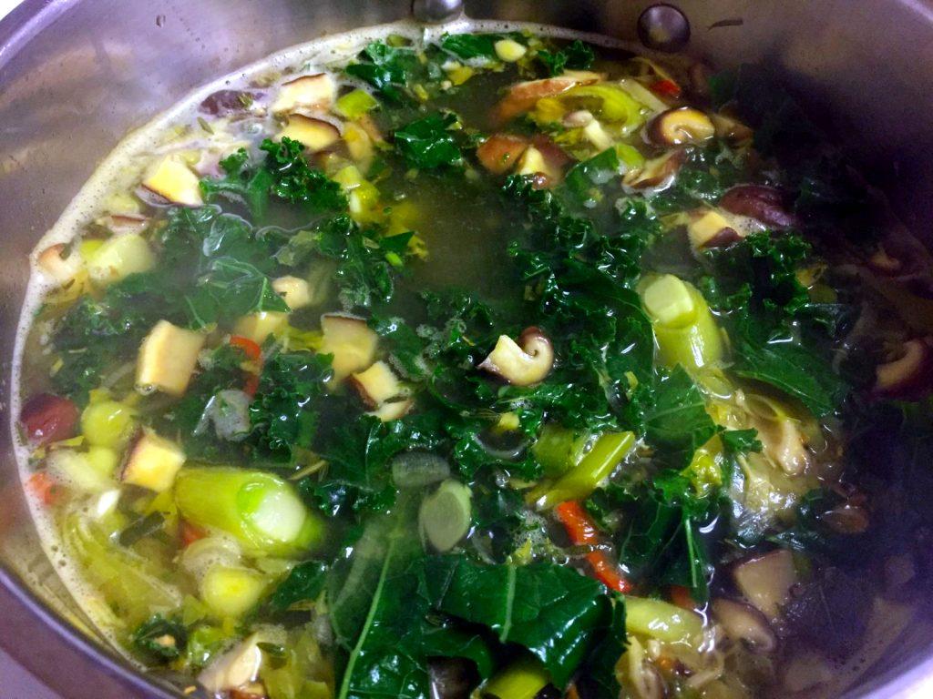 Paleo Immune Boosting Chicken Soup