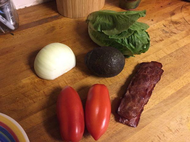 Paleo BLT Wrap with Avocado