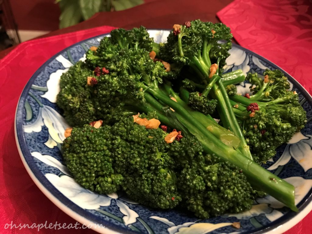 Easy Asian Broccolini