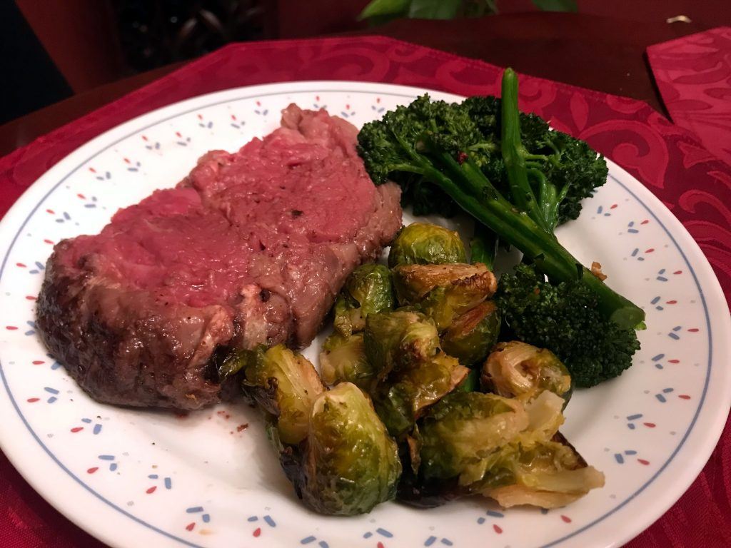 Prime Rib Roast for Two