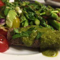 Chimichurri Steak (Paleo, Gluten Free, Whole30)