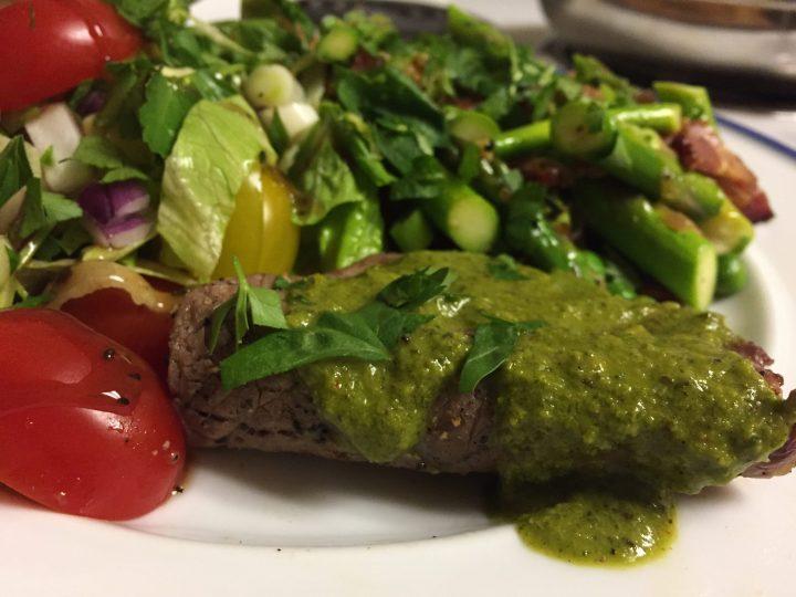 Paleo Chimichurri Steak