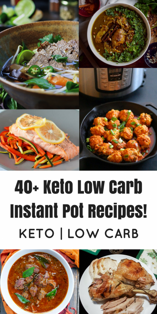 Keto Low Carb Instant Pot Recipes