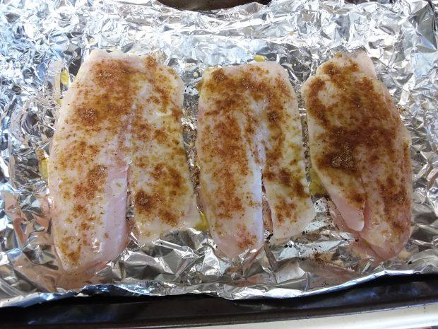 Paleo Baked Fish Tacos