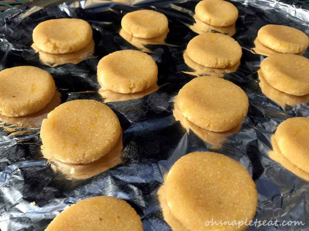 Simple Lemon Cookies (Paleo, Gluten Free, Vegan)