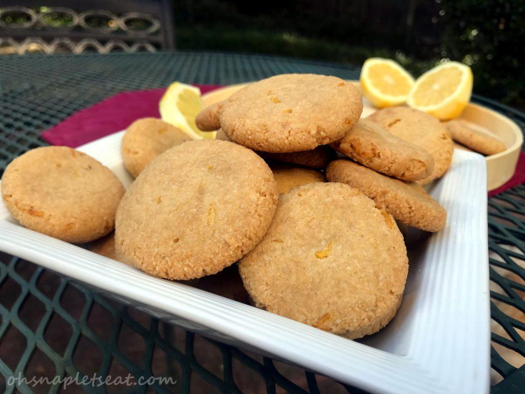 Easy Lemon Cookies by Oh Snap! Let's Eat!