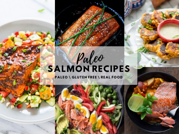 The Ultimate Paleo Salmon Recipes Round Up!
