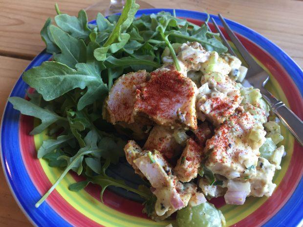 Paleo Curry Chicken Salad