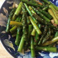 Sesame Asparagus Stir Fry (Paleo, Whole30, Keto, Vegan)