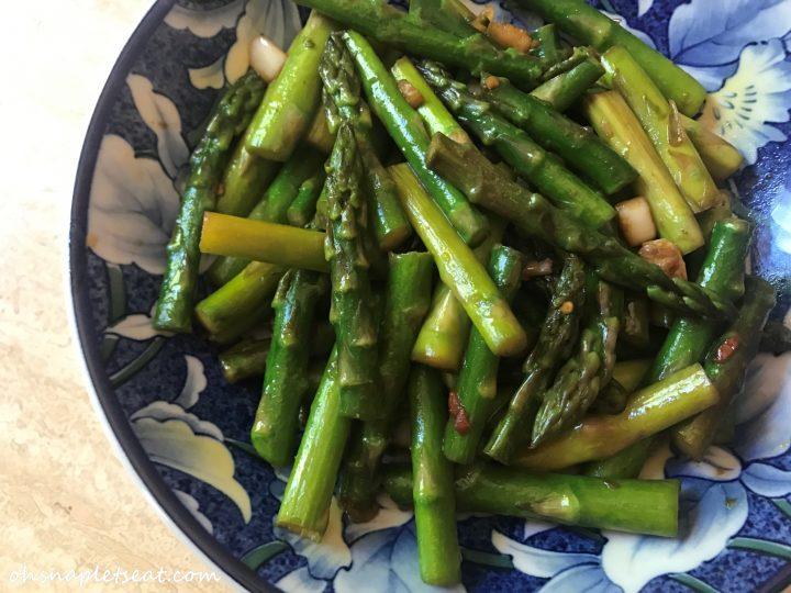 Sesame Asparagus Stir Fry