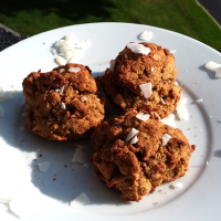 Banana Walnut Coconut Cookies