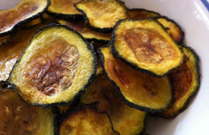 Oven Baked Zucchini Chips (Paleo, Keto, Vegan, Whole30)