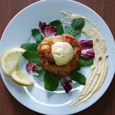 Paleo Baked Crab Cakes